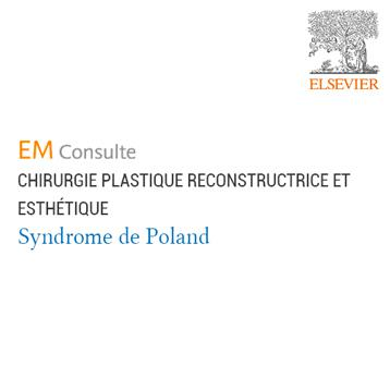 Publication EMC Chirurgie Plastique Syndrome de Poland CAO