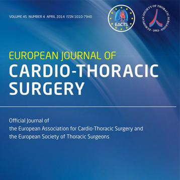 European Journal of Cardio Thoracic cover picture